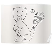 Any Beaver for Tennis?  Poster