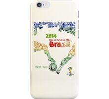 World Cup Brazil 2014 #1 iPhone Case/Skin