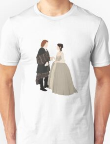 Outlander - Jamie and Claire T-Shirt