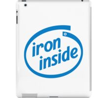 Iron Inside iPad Case/Skin