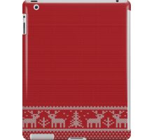 Ugly Christmas Sweater iPad Case/Skin