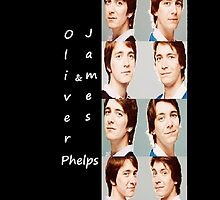 Oliver & James Phelps by fellowdragonspy