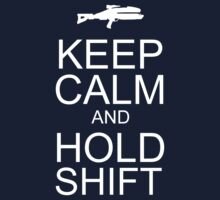 Keep Calm and Hold Shift by Sirkib