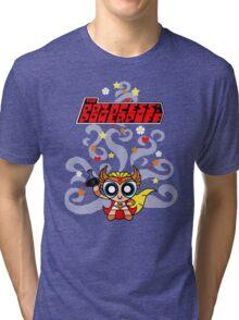 Princess of Powerpuff Tri-blend T-Shirt