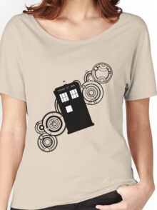 doctor who tardis r Women's Relaxed Fit T-Shirt