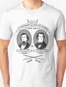 Cane Fight! Charles Sumner v. Preston Brooks Unisex T-Shirt