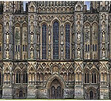 wells cathedral Photographic Print