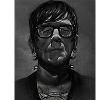 Frankenstein's Monster- The Hipster Years Photographic Print