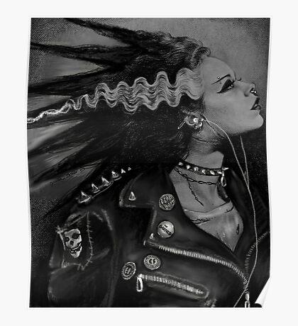 The Punk Rock Bride Poster