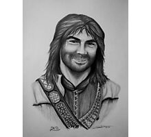 Aidan Turner as Kili from The Hobbit Trilogy Photographic Print