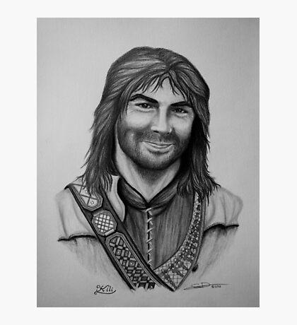 Aidan Turner as Kili from The Hobbit Trilogy Photographic Print