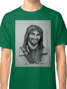 Aidan Turner as Kili from The Hobbit Trilogy Classic T-Shirt