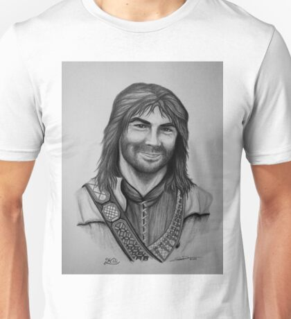 Aidan Turner as Kili from The Hobbit Trilogy Unisex T-Shirt