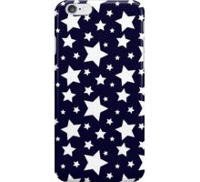Blue and White Stars iPhone Case/Skin