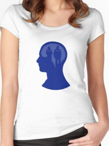 One Track Mind- Castle Women's Fitted Scoop T-Shirt