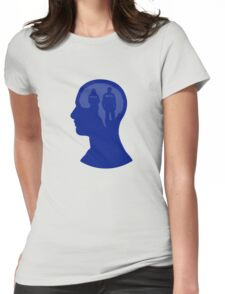 One Track Mind- Castle Womens Fitted T-Shirt