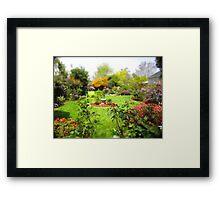 Nanny's Garden Framed Print