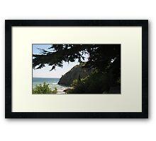 See Through Framed Print