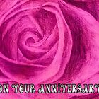 Anniversary rose sketch by ChrisNeal