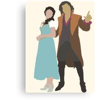 Rumbelle - Once Upon a Time Canvas Print