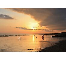 Low Tide Sunset - Hove #24 Photographic Print