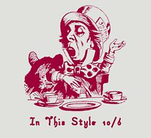 Magenta Mad Hatter In This Style Unisex T-Shirt