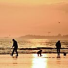 Low Tide Sunset - Hove #27 by Matthew Floyd