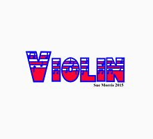 Violin Red White & Blue I Unisex T-Shirt