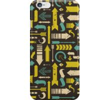 Grunge Arrows Pattern iPhone Case/Skin