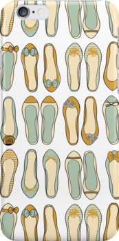 Cute Ballerina Shoes Collection by Iveta Angelova
