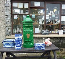 The Irish Antique Shop by Fara