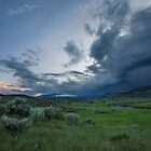 Storm over Lamar Valley, Yellowstone by Matt Tilghman