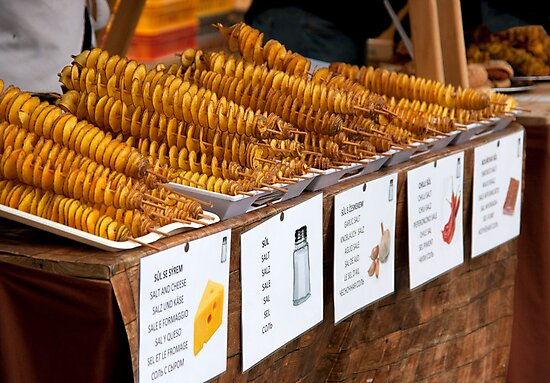 Prague Fries On A Stick by phil decocco