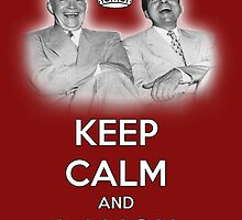 Keep Calm and Laugh! Eisenhower and Nixon by NixonChrist