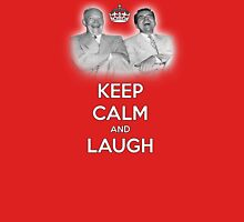 Keep Calm and Laugh! Eisenhower and Nixon Unisex T-Shirt