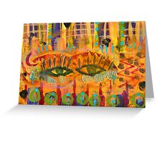 Keeping a Soulful Eye on You Greeting Card