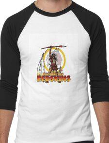Redskins T-Shirt Men's Baseball ¾ T-Shirt