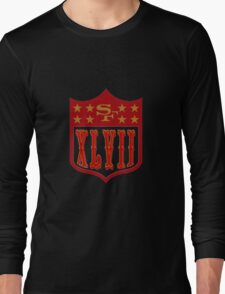 Niners Superbowl XLVII Long Sleeve T-Shirt