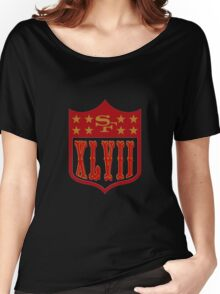 Niners Superbowl XLVII Women's Relaxed Fit T-Shirt