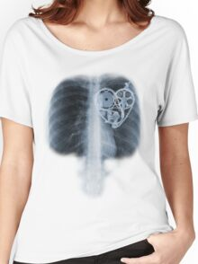 BiKE LOVE X Ray bicycle heart components Women's Relaxed Fit T-Shirt