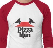 i Learned It From The Pizza Man [Dark] Men's Baseball ¾ T-Shirt