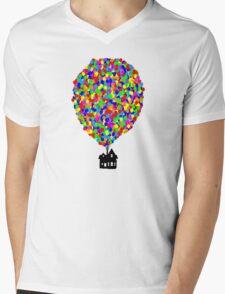UP Mens V-Neck T-Shirt