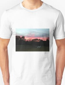Colorful Sky Above The Trees T-Shirt