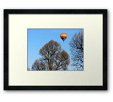 Quiet flight Framed Print