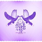 Two Doves by DreamCatcher/ Kyrah Barbette L Hale