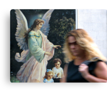 21/1 urban angel Canvas Print