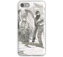 50 years of W G Grace punch cartoon 1898 iPhone Case/Skin