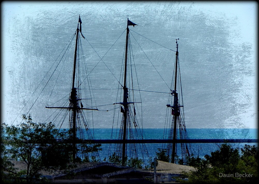 Shipping out © by Dawn M. Becker