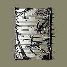 Bruyn - Zombies iPad Case 04 by Craig Bruyn