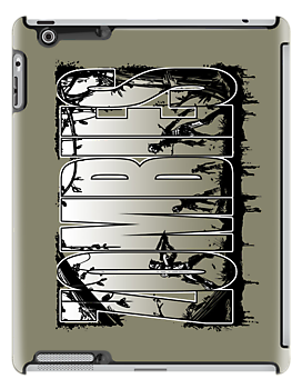Bruyn - Zombies iPad Case 05 by Craig Bruyn